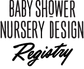 Baby Shower Nursery Design Registry