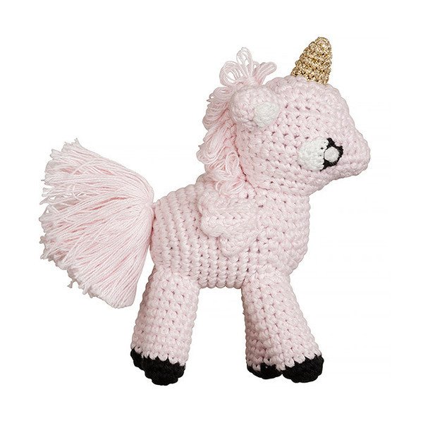 mini unicorn rattle