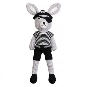 Patrick pirate bunny softie