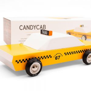 CandyCab wooden car by CandyLab Toys