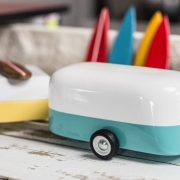 Camper Trailer wooden toy by CandyLab