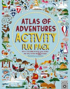 Atlas of adventures activity book by Lucy Letherland