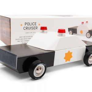 Police chief cruiser wooden car by CandyLab