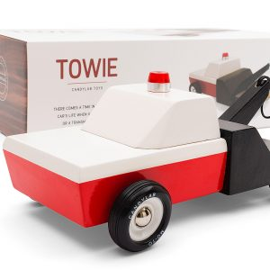 Towie wooden truck by CandyLab Toys