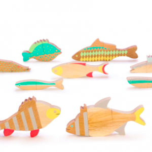 Magnetic fish game set