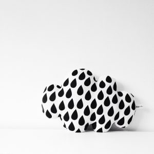 raindrop cloud cushion