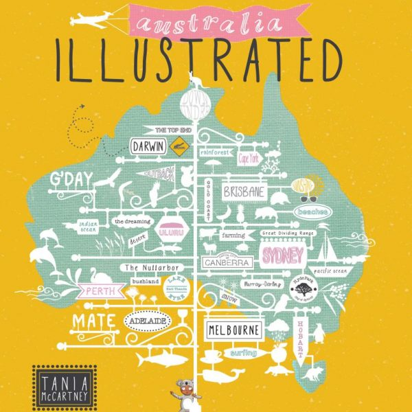 Australia: Illustrated by Tania McCartney